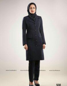 faramodel iranian manto 2016 032 235x300 - تعبیر جدید امروزی از پوشش مناسب کسب و کار برای رسیدن به موفقیت (۵ سطح لباس کاری)
