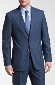 joseph abboud navy signature silver navy wool suit product 2 3026779 714882153 196x300 - تعبیر جدید امروزی از پوشش مناسب کسب و کار برای رسیدن به موفقیت (۵ سطح لباس کاری)